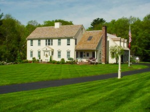Lush Green Landscape in Southeast Massachusetts - Residential Lawn, Tree & Shrub Care
